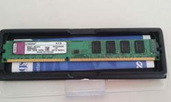 Hi all, I'm selling a Kingston DDR3 2GB ram - Low
