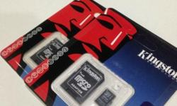 Kingston MicroSD memory card! ( Include adapter) 8GB =