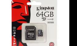 Original Kingston /Sandisk micro SD card + SD adapter