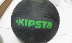 Hard Ground rubber material soccer ball (Size 5) for