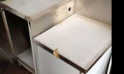 New & unused kitchen cabinet. Good for Chinese cooking
