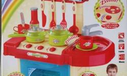 This is a brand new in box, kitchen playset for