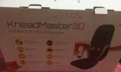 Brand New Extremely portable KneadMaster 3D Full Back