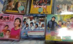 Korean/China/Taiwan drama in DVDS/VCD/ English songs CD