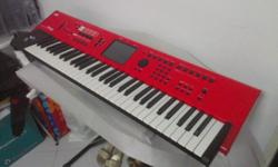 Selling my rarely used korg m50 red color 61 key for