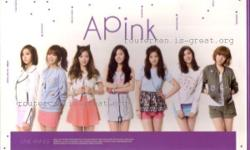 KPOP for collection: APink 1st Album Une Annee group: