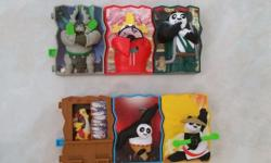 Kung Fu Panda 6 Pc Toy The Kung Fu Panda toys could be