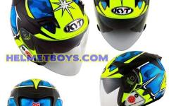 KYT SUNVISOR motorcycle helmet super cool and