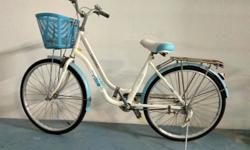 Almost brand new ladies cycle , very sparingly used, in