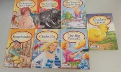 Selling the lot of 7 ladybird hardcase books. Good