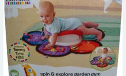 Hardly used Lamaze Spin & Explore Gym. As good as new.