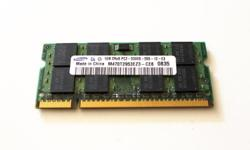 For sale: Laptop RAM DDR2 1GB 5300/667MHz Price: $12