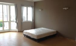 Furnished one bedroom studio for rental. Comes with