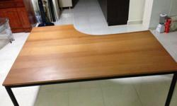 Large Study Desk for Sale :- - This used study desk is