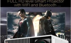 Latest Android 4.4 projector W330 1280*800p HDMI DVB-T