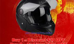 NEW YEAR NEW HELMET CHINESE NEW YEAR 50% DISCOUNT OFF