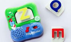Selling off this used LeapFrog Magnetic Fridge Phonics