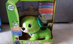 Leap Frog Read With Me Scout Set With 5 brand new story