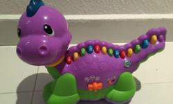 LeapFrog Lettersaurus used but no defects or broken