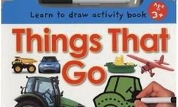 Wipe Clean Things That Go (Wipe Clean: Learn to Draw