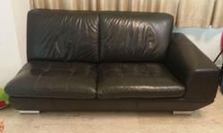 1) 3 seater +1 recliner 2) Black 3) Self collect from