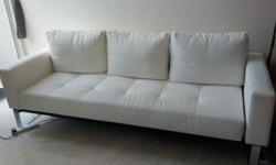 1) Sofa Bed for sale. Can be used as spare bed, full
