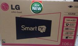 Brand new LG smart tv for sales. Price are negotiable.