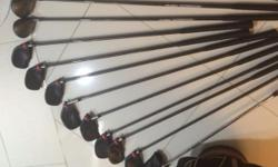 "Left handed Super good condition golf set ""Vectra"