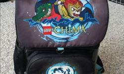 Used lego chima school bag for sale. Comes with a