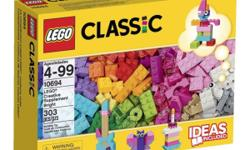 * Includes a range of LEGO bricks in 20 different