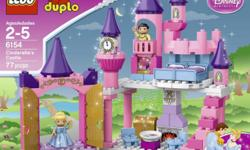Lego Duplo Cindrella Castle Age 2-5 yrs old *please