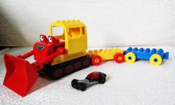 Hello..... For sale a LEGO DUPLO bull dozer with 2