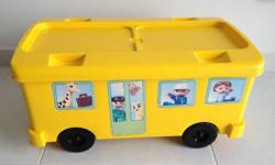 Large Lego Duplo bus. Great for storing all those loose