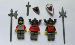 Lego Minifigure - Fright Knights 3 different knights
