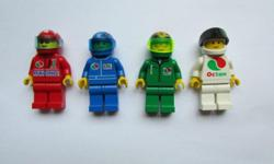 Lego Minifigure Racers Set