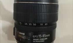 Very good condition (1+ yrs) Canon lens for sale.