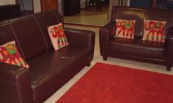 Lether Sofa 3+2 Seater for ** SALE **  Price