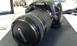I'm selling my Canon 450D off because I want to settle