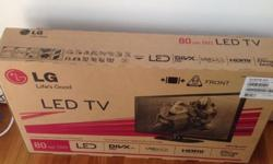 "LG LED Television 32"" is available for sale. It's"