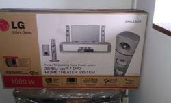 LG 3D Blue Ray DVD Home Theatre System (Brand New) with