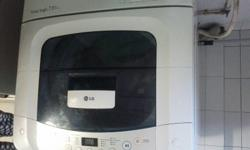 LG 7.5 Kg Washing Machine for sale only for 150$. Very