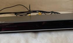 DVD player, LG brand. In excellent working condition,