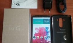 Local set gold LG G3 for sale. Phone had zero cracks,