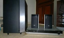 DVD Home theater system with built in amplifier USB