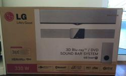 LG brand new 3D Blu-Ray/DVD Sound Bar System (with