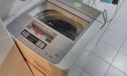Selling away my 6month+ old washing machine as my new