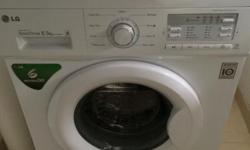 Mint condition LG washing machine. Used for less than