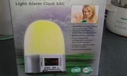 Brand new Light Alarm Clock have not used before in