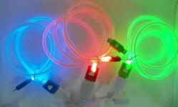 Lighting USB Cable! For Android mobile phones, iphone &