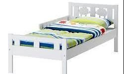Hi I have an Ikea children bed (White ) for sale.